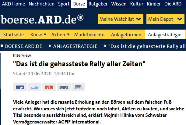 Ard Boerse Online